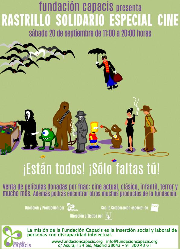 Rastrillo solidario especial cine